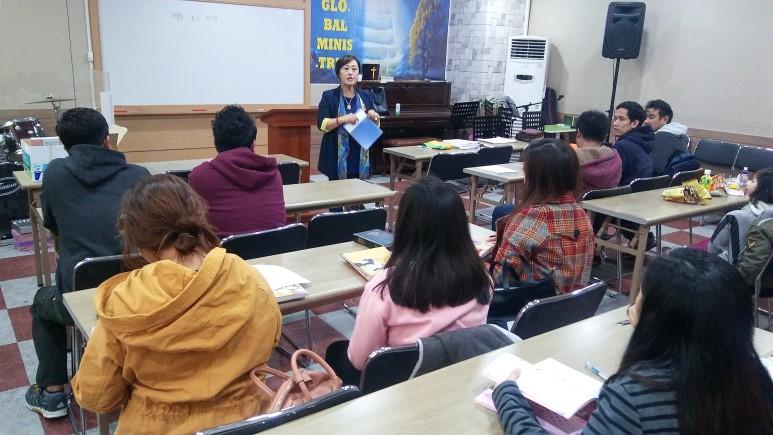 [이주민 지원사업] 러브월드 인천지부 한국어교실 운영