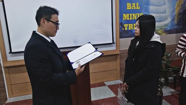 [이주민지원사업] 러브월드 인천지부 장학금 전달식
